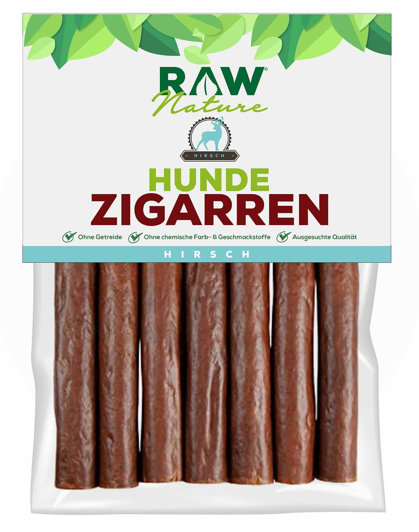 Hunde-Zigarre mit Hirsch - 7 Stück