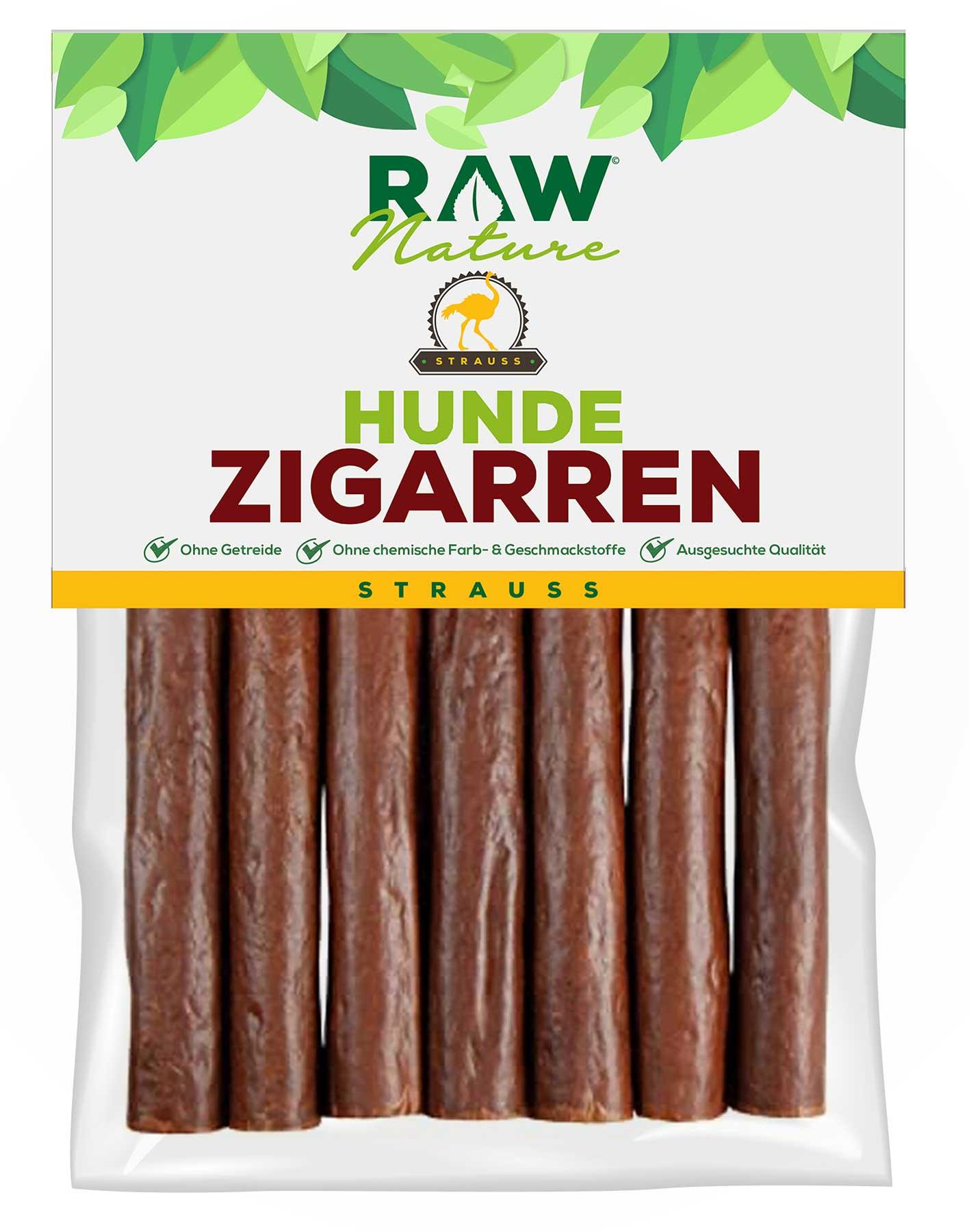 Hunde-Zigarre mit Strauß - 7 Stück