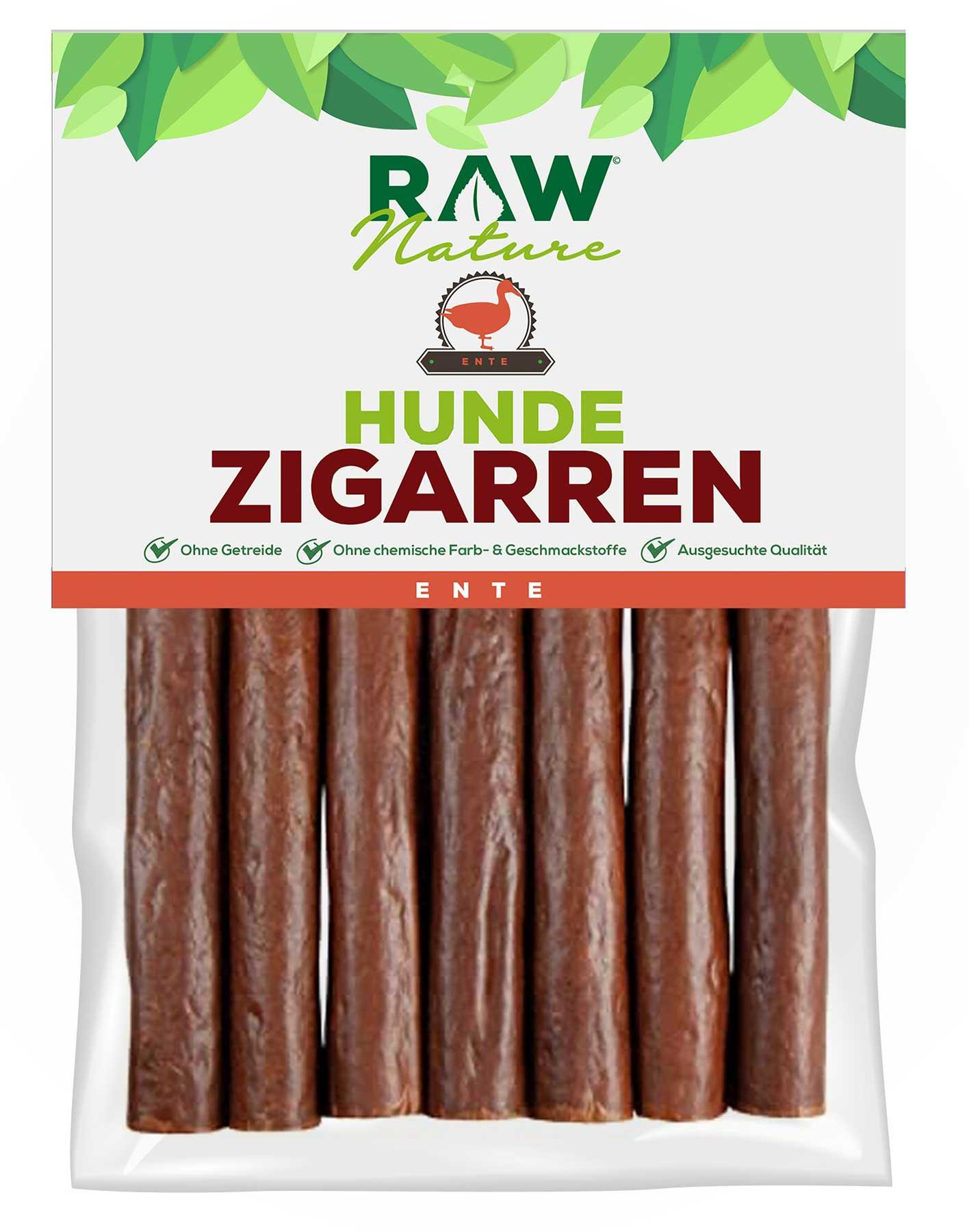 Hunde-Zigarre mit Ente - 7 Stück